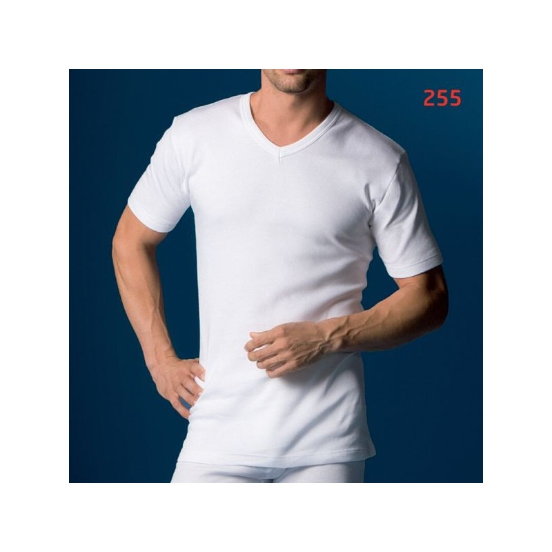 Camiseta interior manga corta Abanderado