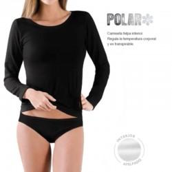 Camiseta manga larga polar Marie Claire