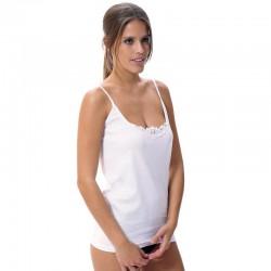 Camiseta algodón tirantes finos Lara