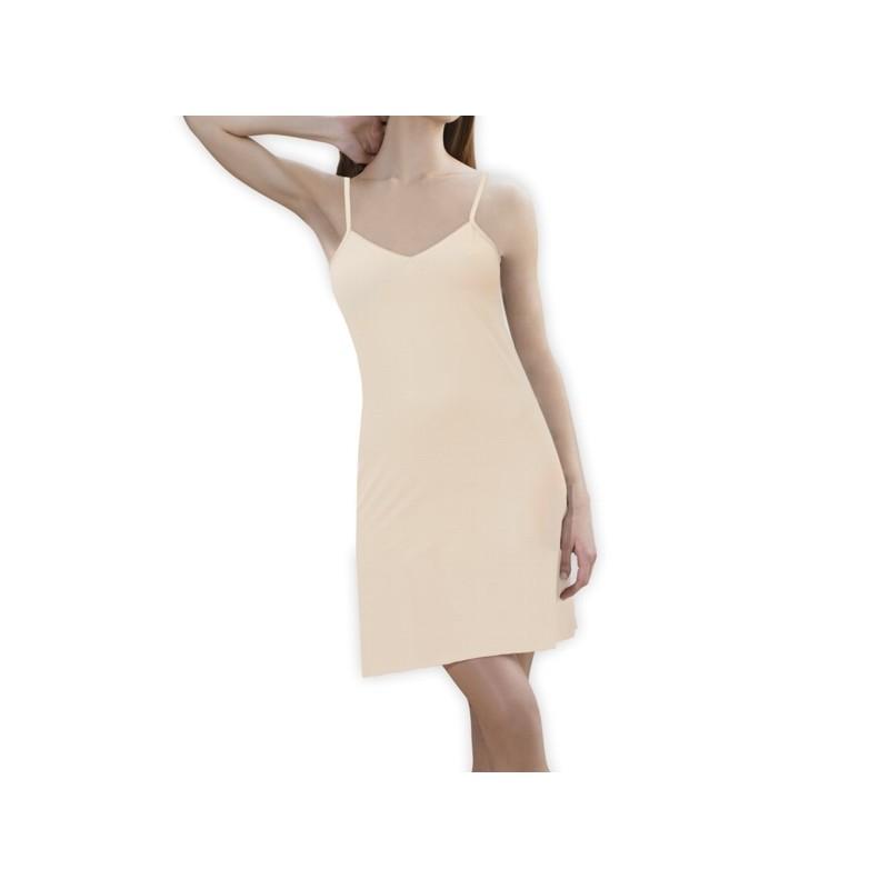 Combinación vestido largo