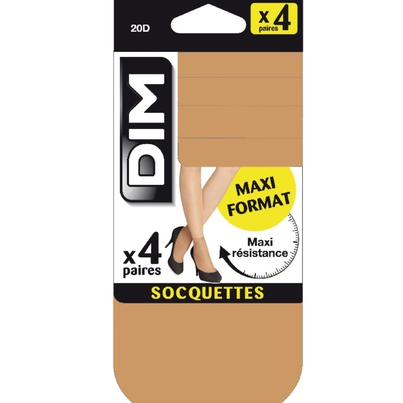 Calcetin media Eco Dim pack 4 pares
