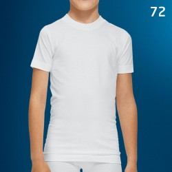 Camiseta niño manga corta algodón Abanderado