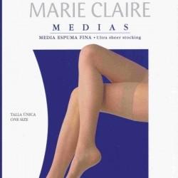 Media de espuma planchada con liga Marie Claire