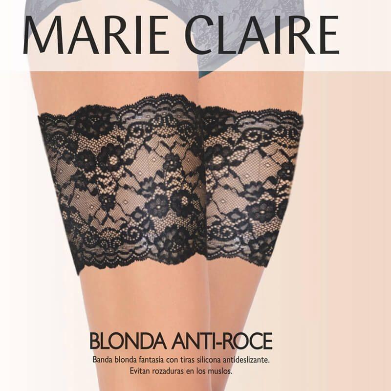 Liga antiroces de encaje Marie Claire