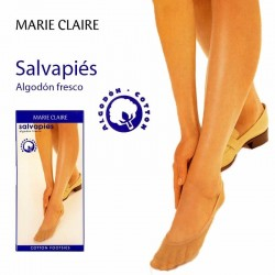 Salvapies algodón sin costuras Marie Claire
