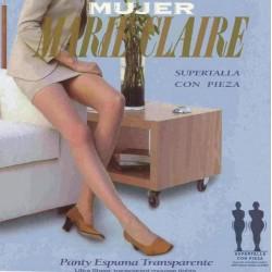 Panty espuma supertalla Marie Claire