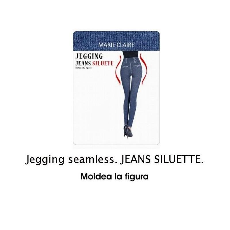 Leggings vaquero efecto moldeador Marie Claire