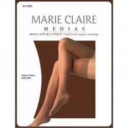 Media de espuma gruesa 40 den Marie Claire