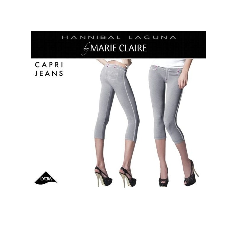 Leggings efecto tejano Marie claire