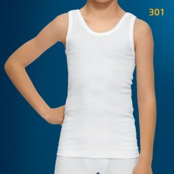 Camiseta niño tirantes algodón Abanderado