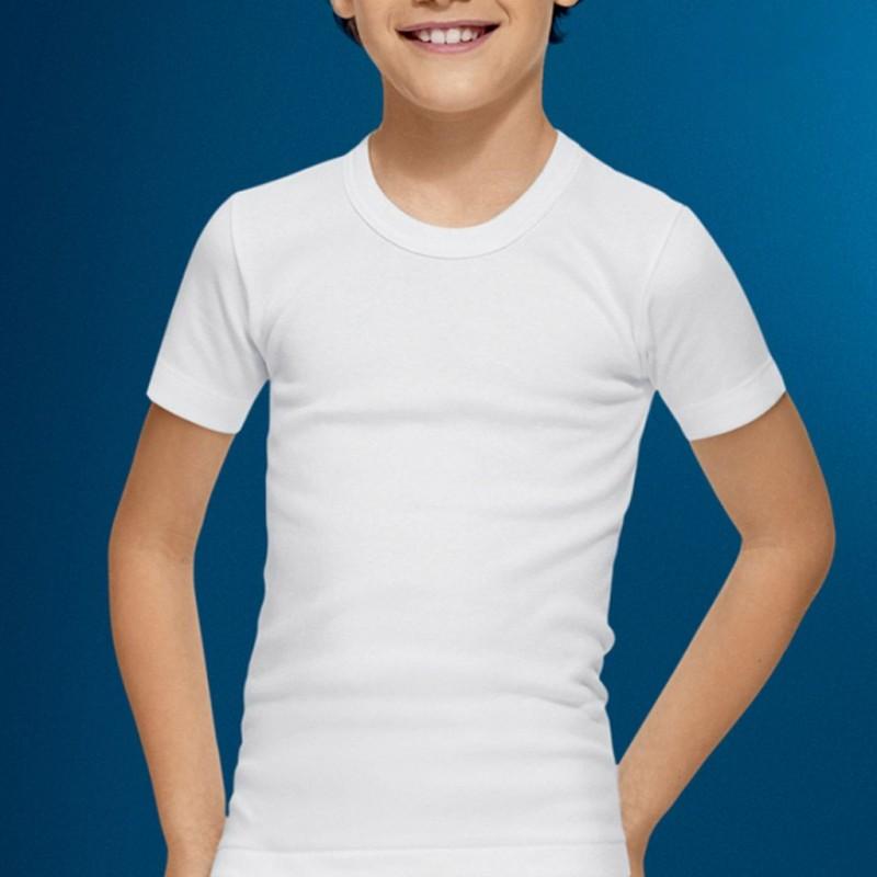 Camiseta niño manga corta termal Abanderado