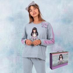 Pijama de mujer afelpado Gorjuss Santoro