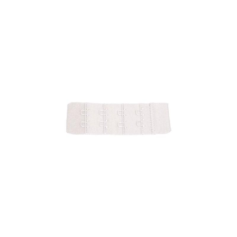 Extensor 2 corchetes estrecho blanco
