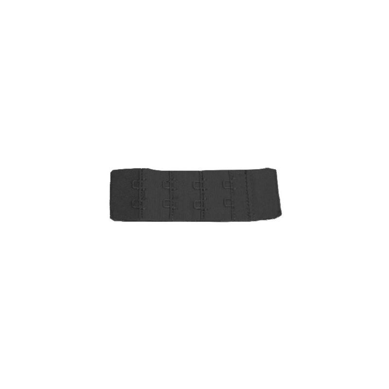 Extensor 2 corchetes estrecho negro