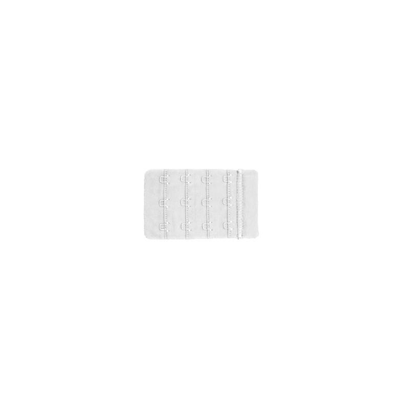 Extensor 3 corchetes ancho blanco