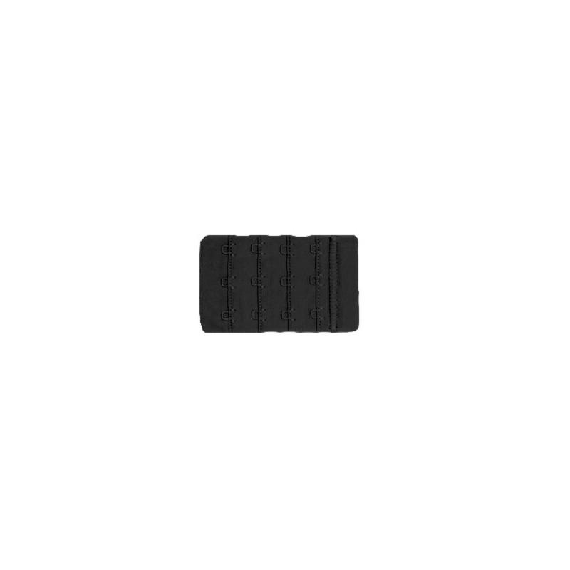 Extensor 3 corchetes ancho negro