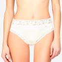 Braga mujer Avet de algodón y con cintura de encaje.
