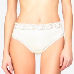 Braga mujer 3324 AVET algodón y cintura de encaje