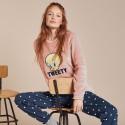 Pijama mujer coralina Tweety