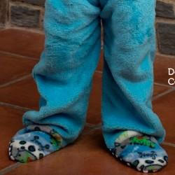 Pelele manta azul de coralina de niño