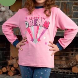 Pijama niña tundosado Dream