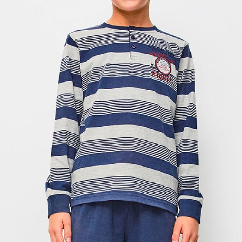 Pijama de niño rayas