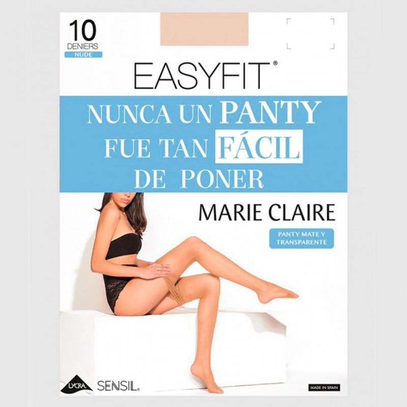 Panty transparente 10 den. Easyfit Marie Claire