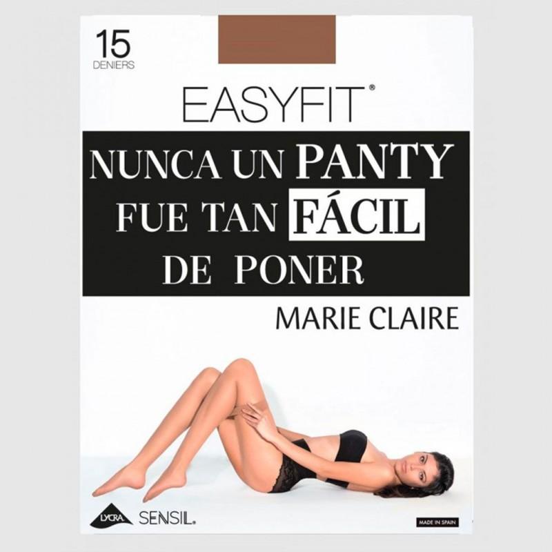 Panty transparente 15 den. Easyfit Marie Claire