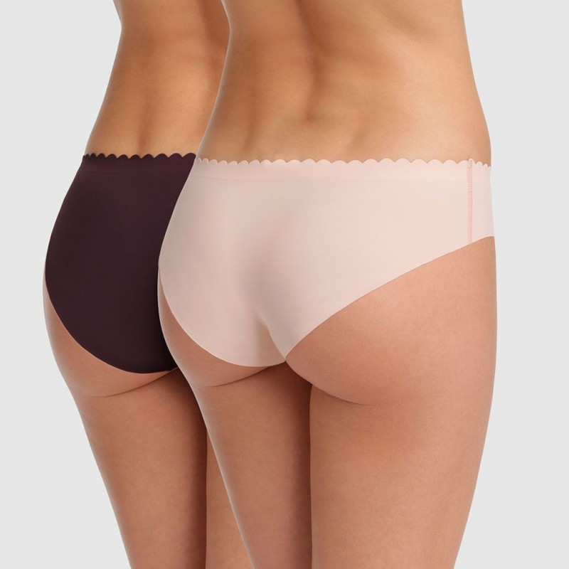 Pack x2 bragas Body Tocuh Microfibra