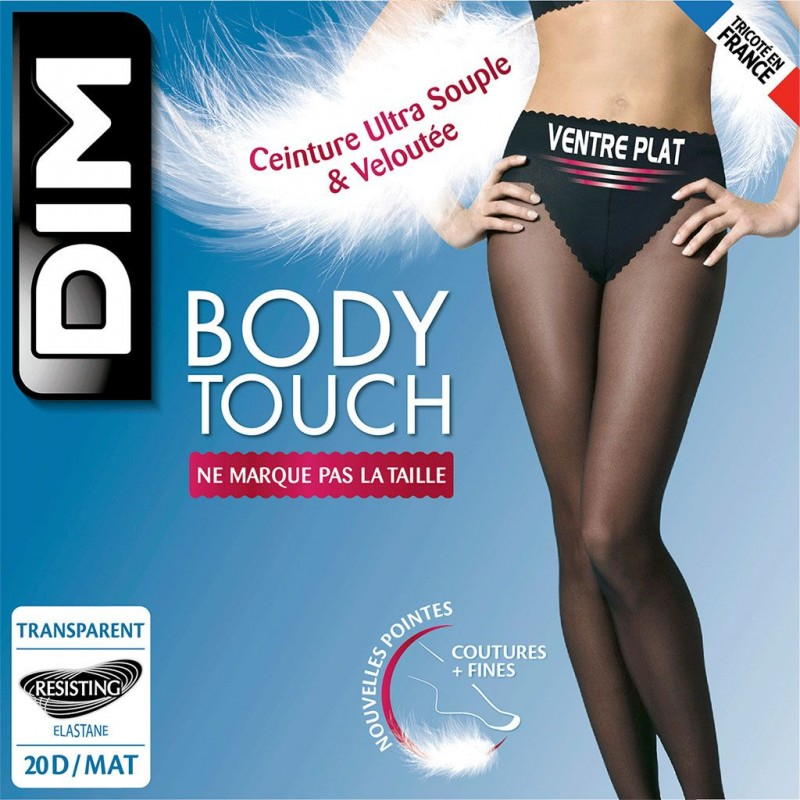 Panty vientre plano 12 den Body Touch Dim