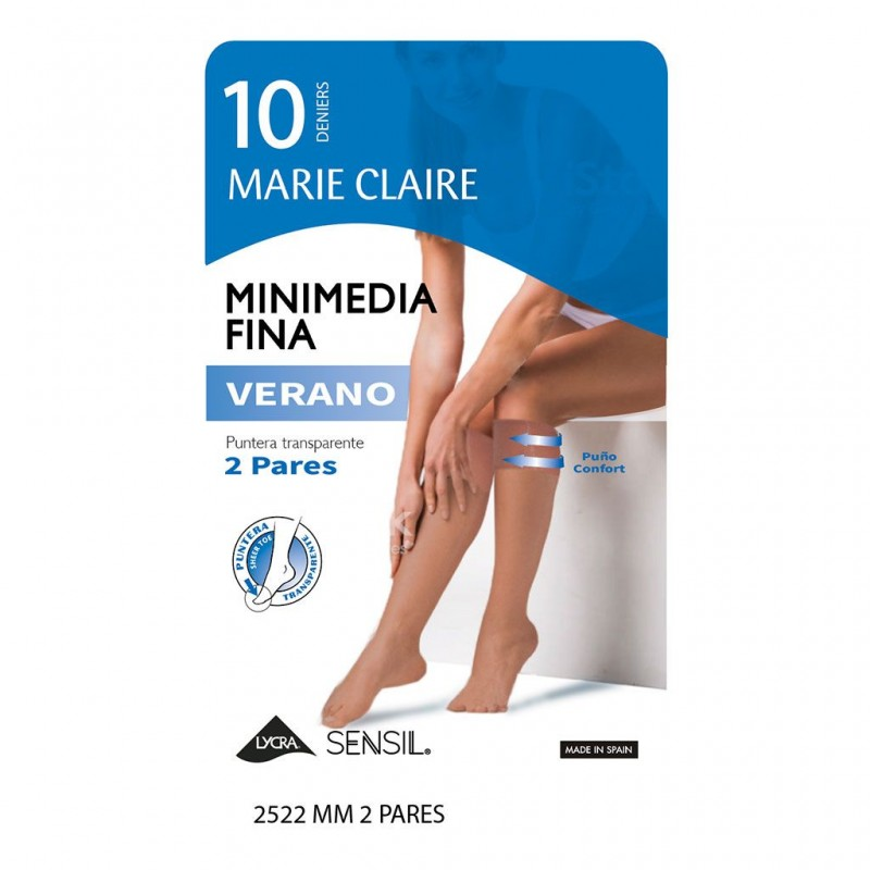 Mini Media verano pack 2 Marie Claire 10 denier