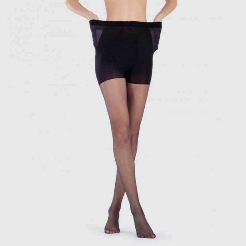 Panty supertalla con pieza 15 den Marie Claire