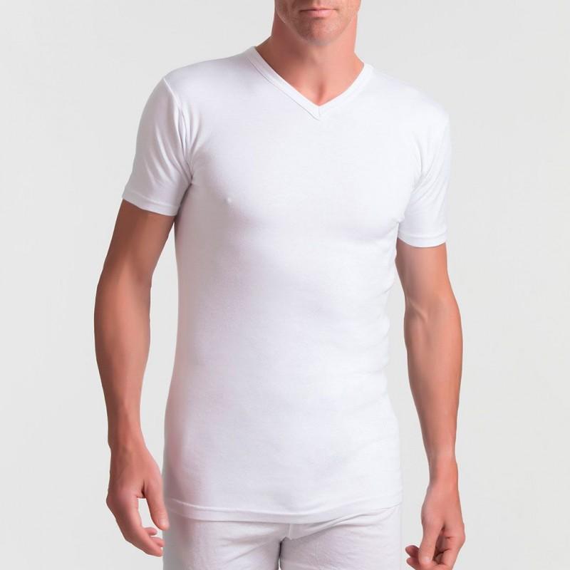 Camiseta interior manga corta Abanderado 255 termal térmico