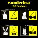 Sujetador Wonderbra 9243 , 100 posturas negro