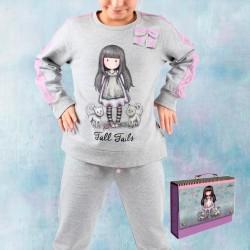 Pijama infantil de felpa Gorjuss Santoro