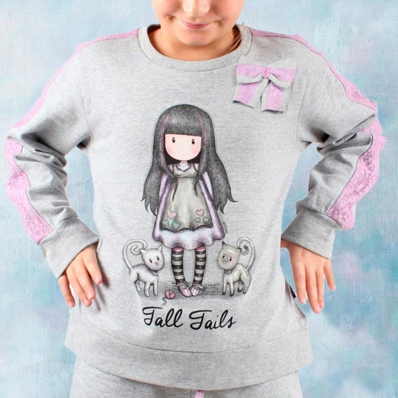 Pijama infantil de felpa Santoro
