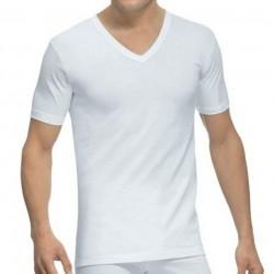 Camiseta 508 manga corta y cuello pico Abanderado