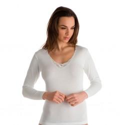 Camiseta interior manga larga 100% algodón MAP