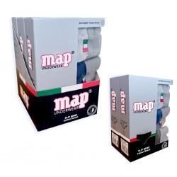 Slip liso x3 goma vista MAP Underwear