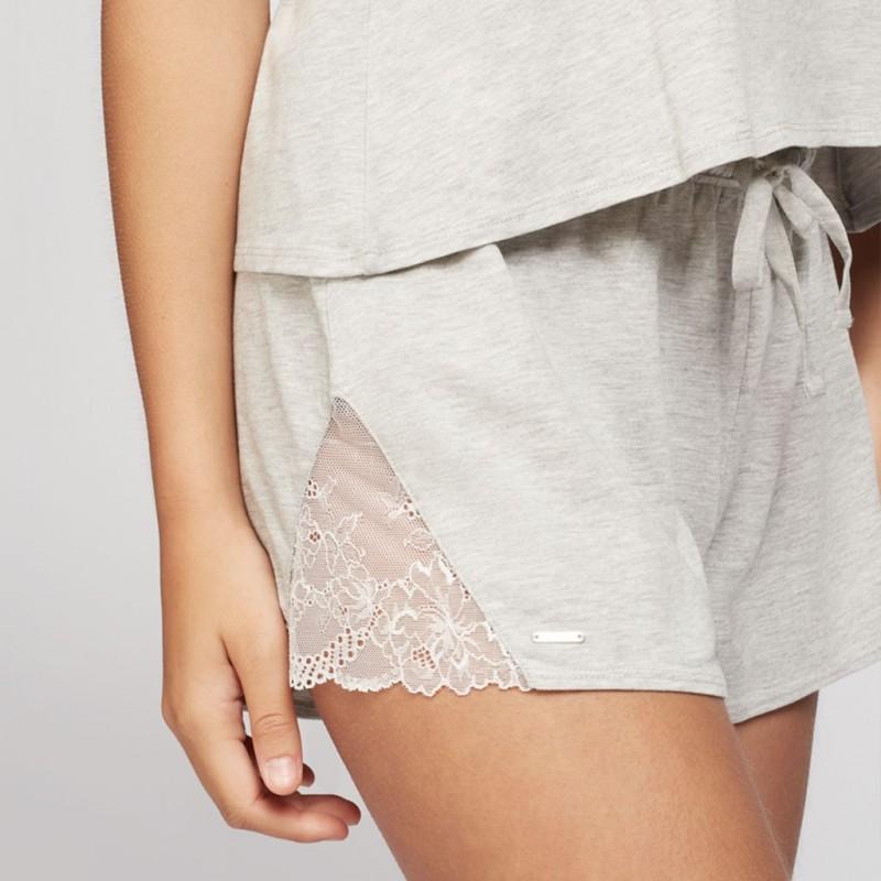Pijama mujer con tirantes regulables