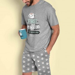 Pijama hombre First coffee Mr Wonderful