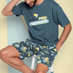 Pijama hombre Mr Wonderful Don't worry beach happy