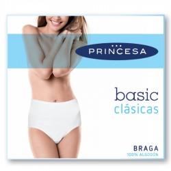 Braga Alta Princesa mujer algodón liso
