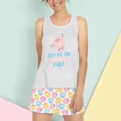 Pijama mujer donuts Mr....