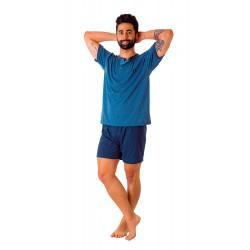 Pijama hombre cuello...