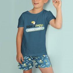 Pijama niño algodón Mr....