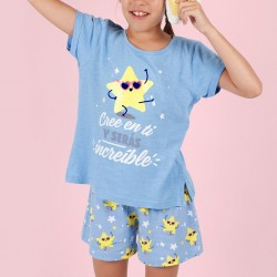 Pijama  niña estrella Mr....