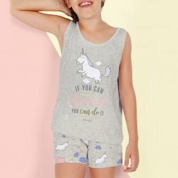 Pijama infantil Unicornio...