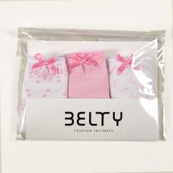 Pack 3 braguitas niña Belty