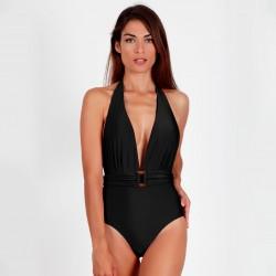 Bañador mujer escote...